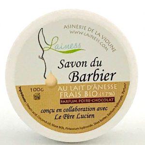 Savon Du Barbier Lainess Poire Chocolat