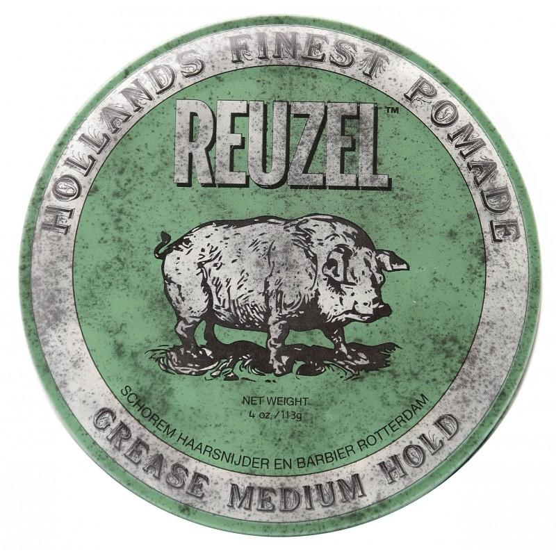 Cire Pour Cheveux Reuzel Green Pig 35g Men Who Care