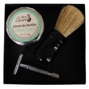 Coffret Rasage 3 produits Le Père Lucien série spéciale