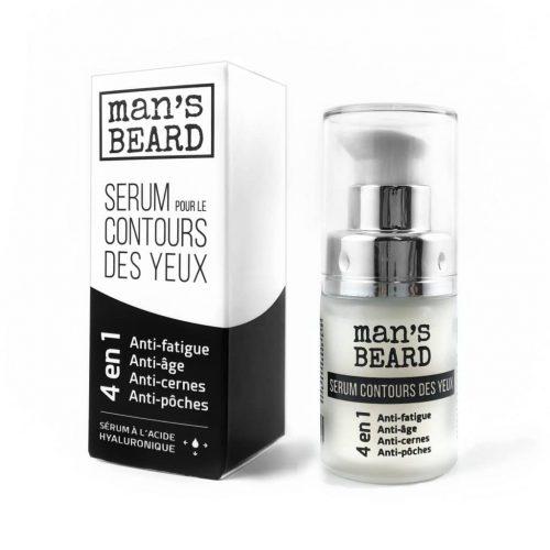 Contours Des Yeux Mans Beard