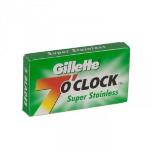Etui De 5 Lames Gillette 7 O Clock Super Stainless Im 4459