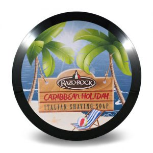 Savon à Barbe Razorock Carribean Holiday