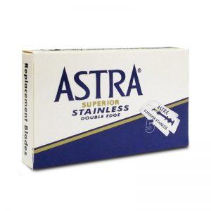 Lames De Rasoir Astra Blue Superior X5